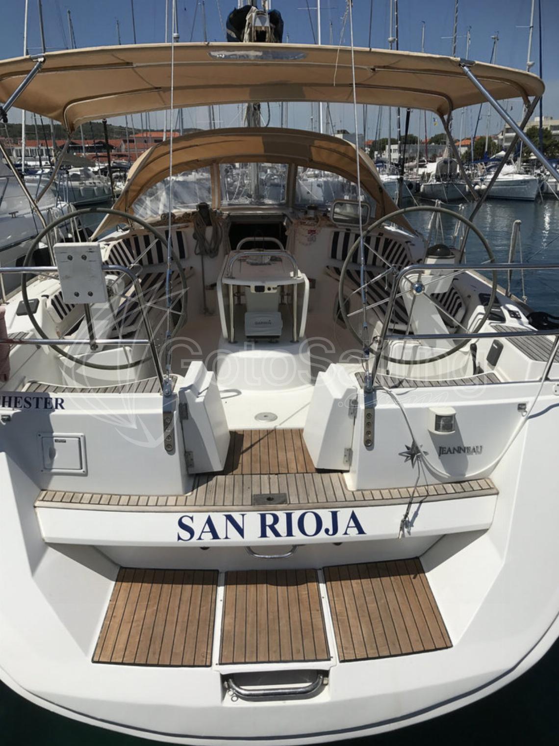 SAN RIOJA Sun Odyssey 49