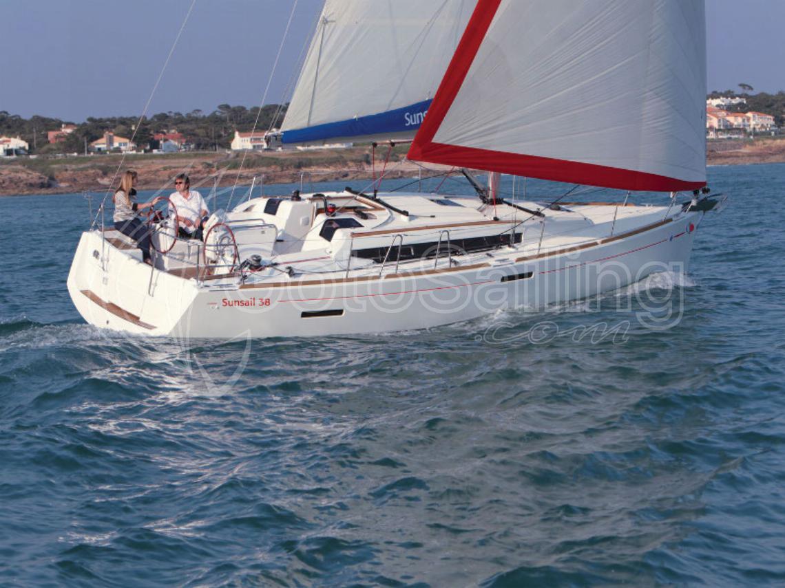 Sunsail 38 Sun Odyssey 389