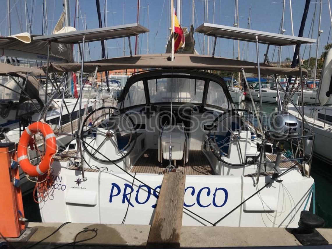 Alboran Prosecco (Majorca) Sun Odyssey 519