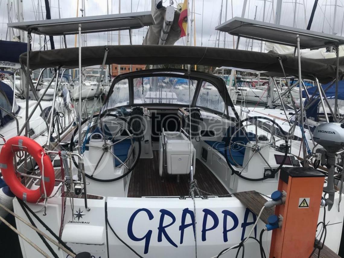 Alboran Grappa (Majorca) Sun Odyssey 519